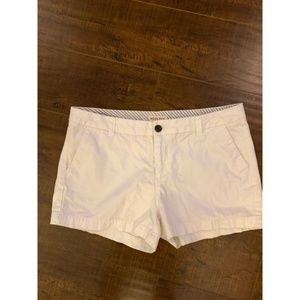 Short White Chino Shorts